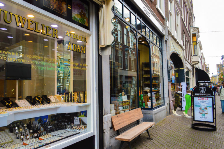 boutique jewellery shop in the Hague