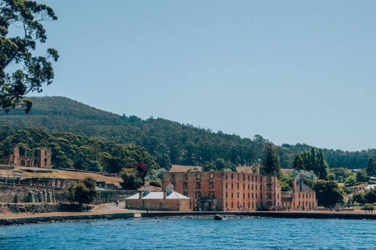 Port Arthur Settlement Tasmania from the Water