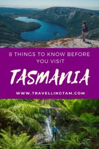 tasmania travel advice blog