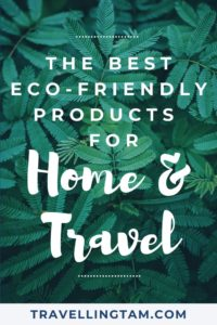 eco friendly travel product recommendations