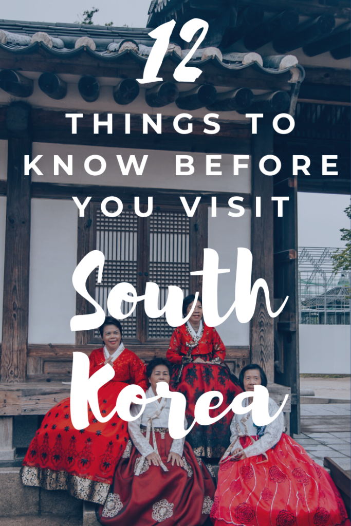 south korea blog travel advice