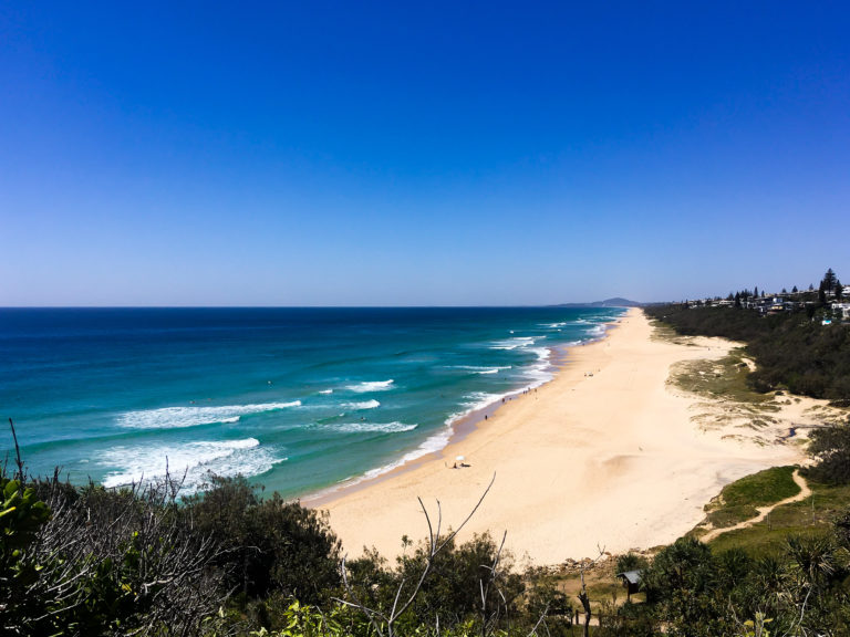 view of sunshine beach in noosa