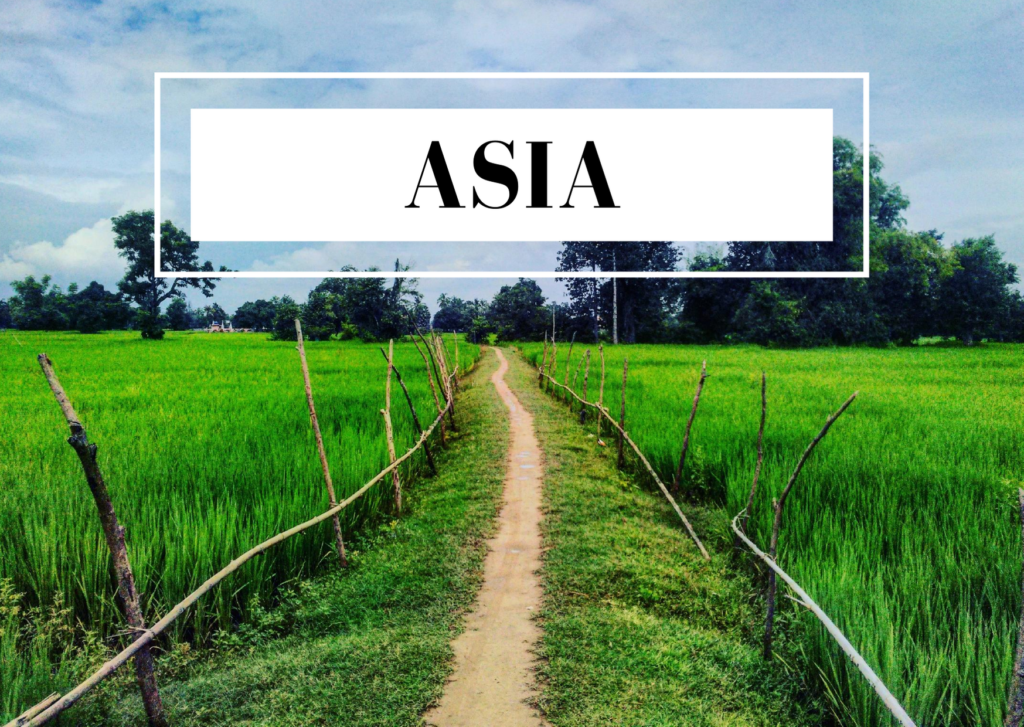 blog posts about asia
