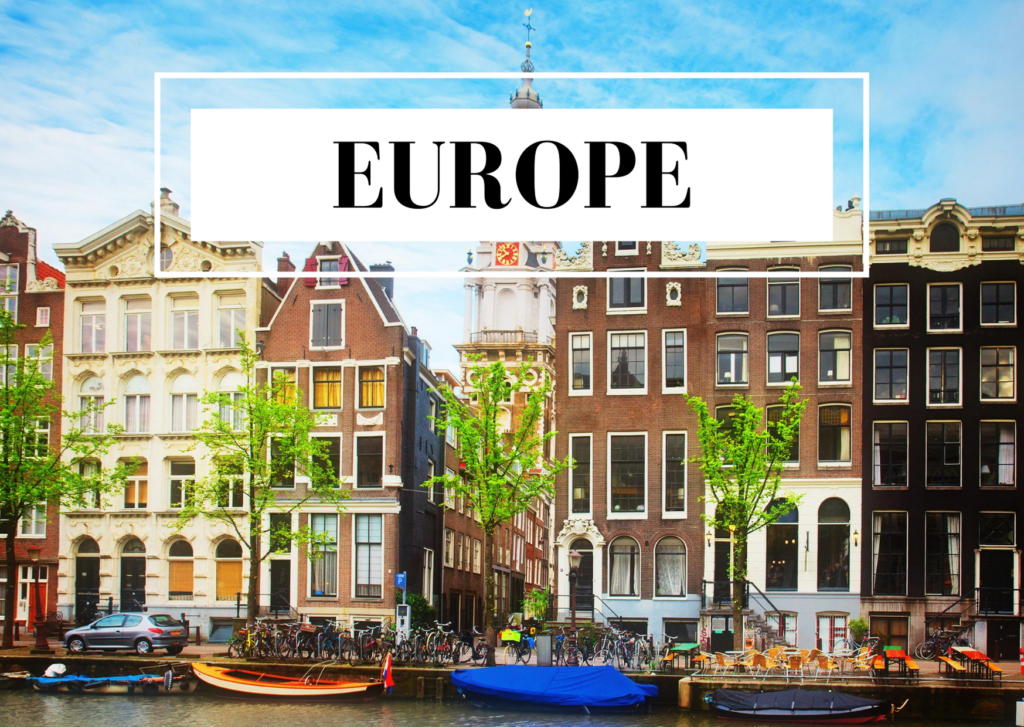 blog posts about europe