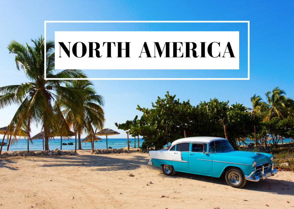 blog posts about North America