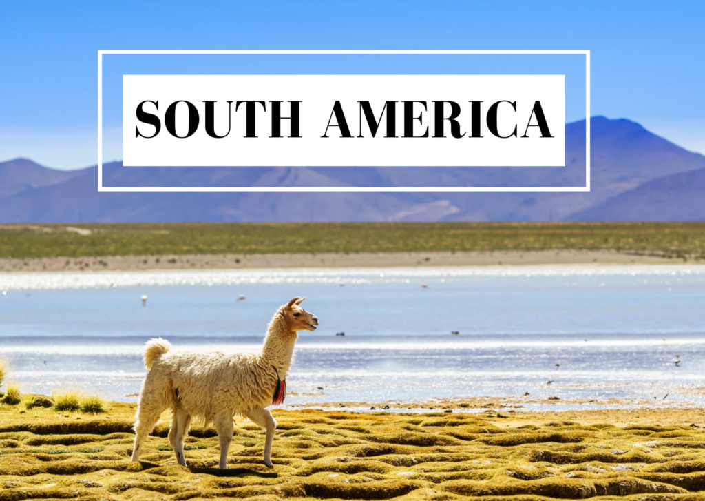 blog posts about South America