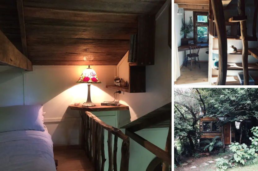 tiny house accomodation in the Yarra Ranges