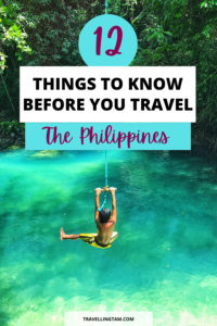 philippines travel tips and preparation