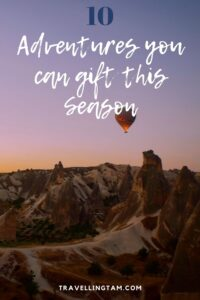 the best travel gift experiences