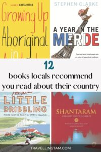 12 local book recommendations by locals about their home country
