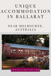 the best and most unique accommodation in ballarat