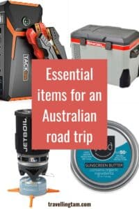 essential products and items for an australia road trip