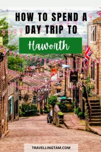 how to spend a day trip to Haworth Yorkshire Pin