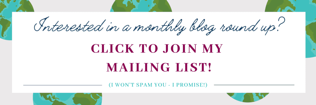 join my mailing list call to action banner